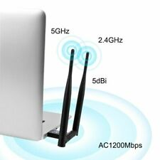 1200Mbps Wireless USB Wifi Adapter Network Card USB3.0 Dual Band 2.4G and 5.8G