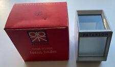 Vintage Paterson Large Screen Focus Finder, Photography Darkroom Developing 35mm