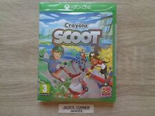 Crayola Scoot  Xbox One Game - NEW & SEALED - 1st Class FREE UK POSTAGE.