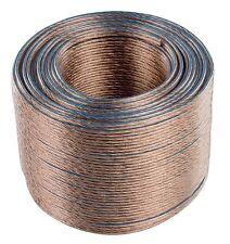 CÂBLE HAUT-PARLEUR ENCEINTES 2 x 1,5 mm² -  2,5 mm² - 4 mm² de 1m à 100m