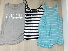 1 LOT OF 3 TEE SHIRT TOPS ANTHROPOLOGIE KAIN LABEL FEEL THE PIECE SMALL MED