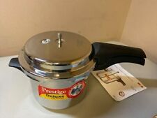 Used Prestige 3.5L Alpha Deluxe Induction Base Pressure Cooker, 3.5L