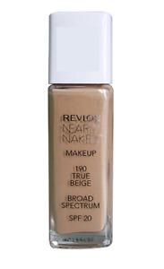 Revlon Nearly Naked Foundation 190 True Beige 30ML