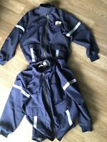 United Airlines Ground Crew Jacket Mens 48 Unitog Vintage Lined Heavy