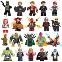 Lego MARVEL Mini Figuren Infinity War Super Heroes Black Panther Avengers