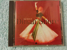 DINAH SHORE - THE BEST OF - BRAND NEW, BUT UNSEALED, 18 TRACK CD