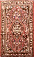 Floral Traditional Lilihan Area Rug Wool Hand-knotted Oriental Foyer Carpet 4x5