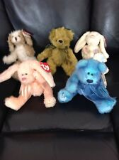 Ty Beanie Babies Attic Treasures Collection x 5