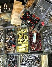 1 GRAB-BAG. CAPACITORS, RESISTORS, DIODES VINTAGE ELECTRONICS  PARTS /JEWELRY