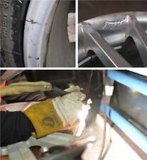Alloy wheel welding. Pothole damage, Cracks, Buckled Mazda RX8