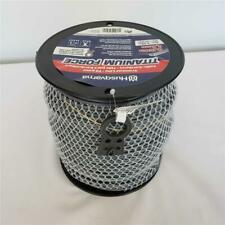 """= Husqvarna Titanium Force Trimmer Line With Cutter 5lbs 0.130"""" 505031611 NEW"""