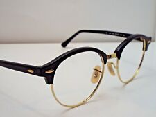 Authentic Ray-Ban RB 4246 901 Black Clubround Sunglasses Frame