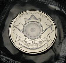 RCM - 2004 - 25-cent - Test Token - Poppy - Proof Like - Sealed in original film
