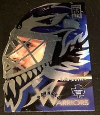 FELIX POTVIN 1996-97 Donruss Elite PAINTED WARRIORS Die-Cut Card #d 572/2500 SP