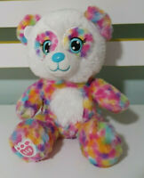 Build-A-Bear TEDDY BEAR BAB Soft Plush Toy 18cm Tall! SMALL FRIES RAINBOW BEAR