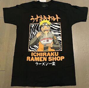Naruto, Ichiraku Ramen Shop   Men's Size: MEDIUM T-Shirt   Black Graphic Tee