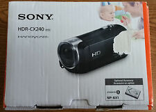 SONY HANDYCAM HDR-CX240 FULL 1080P DIGITAL HD CAMERA RECORDER - BLACK - NEW