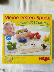HABA Erster Obstgarten Spiel für Kinder ab 2 Jahre