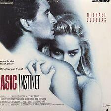 BASIC INSTINCT WS VF CLV PAL LASERDISC Michael Douglas, Sharon Stone