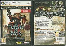 JEU PC - DAWN OF WAR ( NEUF EMBALLE ) / EN FRANCAIS