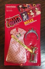 NEW Vtg Knickerbocker Toy Co Snoopy & Belle Fashions Belle Miss Hollywoof Outfit