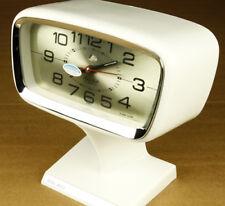 Hain Bell Vintage Futuristic Hand Winding Alarm Clock Korea New Old Stock