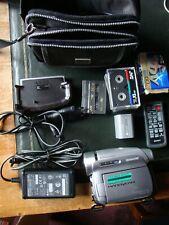 Sony Handycam DCR-HC94 Mini DV Nightshot LCD Screen Zubehörpaket
