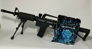 Tippmann 98 Custom w/ AK & Tripod & Handle  500 Count Paintball.