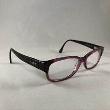 Tod's To 5037 083 Eyeglass Frames Brown Pink Purple Tortoise 55-15-135 Italy