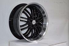 4 GWG Wheels 20 inch Black AMAYA Rims fit 5x114.3 ET38 INFINITI M35X 2009 - 2010