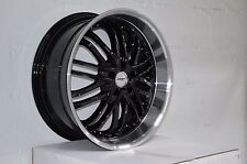 4 GWG Wheels 20 inch Black AMAYA Rims fit ET38 TOYOTA CAMRY SE V6 2005 - 2011