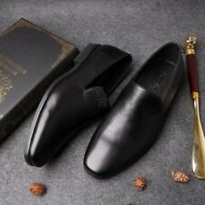 Mens Spring Leisure Cow Leather Slip On Loafers Driving Moccasins Shoes Sz 7-10