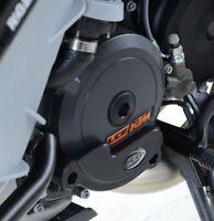 KTM 1190 Adventure 2013 2014 2015 2016 R&G Left Engine Case Slider ECS0033BK