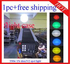 1pc Wedding Stage Follow Spot Light 350W 17R With DMX Flight Case Free Shipping