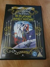 The Nightmare Before Christmas (DVD) Childrens Classic Film Special Edition