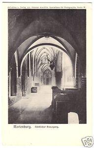 AK, Marienburg Westpr., Malbork, Die Marienburg, Nördlicher Kreuzgang, 1912