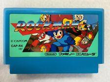 Megaman Rockman 1 Nintendo Famicom NES Japan retro video game action FedEx