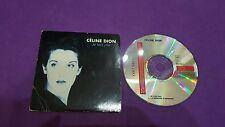 Celine Dion je sais pas la memoire d'abrahsm 1995 Canada card sleeve cd usato