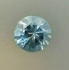 Precision Cut Unheated Light Blue Aquamarine - Round - Mozambique - Eye Clean