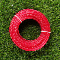 Spool Trimmer Line Cutter Red Nylon 15m*3mm Rope Roll Cord Wire Grass Brand New