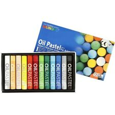 Oil Pastels Drawing Painting 12 Assorted Colours by Mungvo