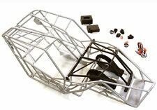 Integy Steel Tube Roll Cage Chassis Body Rock Crawler Racer Axial  Wraith Silver