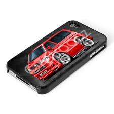 RetroArtz Cartoon Volkswagen VW T5 Sportline Red iPhone 4/4s & 5/5S Case/Cover
