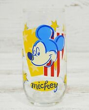 """Vintage Disney Mickey Mouse  Anchor Hocking Drinking Glass 6"""" Tumbler"""