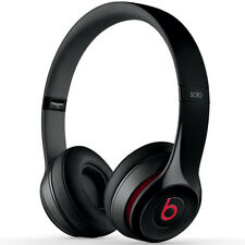 Genuine Beats by Dr. Dre Solo Over-Ear Headphones | Noir Mat