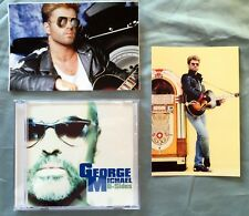 George Michael 2 postcards + Free B-sides Collection CD Bside B-Side Faith Sex