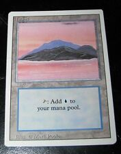MAGIC The Gathering (ISLAND) Deckmaster Trading Card 90's (Mark Poole)