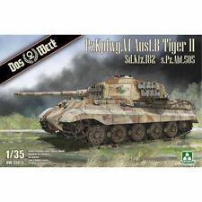 Das Werk DW35013 Panzer VI Ausf.B Tiger II Sd.Kfz. 1:35 Plastic Model Tank Kit