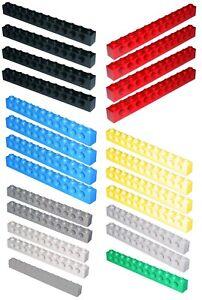 Lego Brick 3895 Technic Brick 1 x 12 with Holes Select Colour & Quantity
