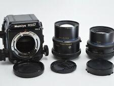 Mamiya RZ67 ProII Sekor Z 90mm 180mm W Lens 120 FB EXC Import Japan #1401-011